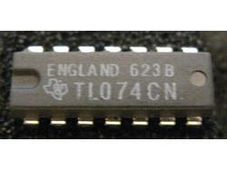 IC Analog [074] TL074CN TI