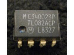 IC Analog [082] TL082ACP/MC34002BP Motorola