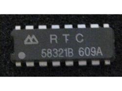 IC uP P RTC58321B RTC