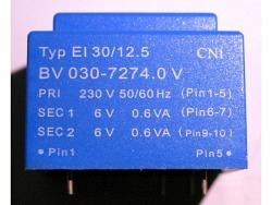 Power Print Trafo 1.2VA ERA BV-030-7274.0*