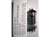 Tube / Röhre ECC82 / E82CC / 12AU7A / 5814A / 5963 / 6189W / 6680 JAN6189W/12AU7WA/E82CC Sylvania (Supermatch Ad)