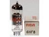 Tube / Röhre 6HF8 * 6HF8 GE/Westinghouse/RCA/Sylvania/Raytheon/Zenith
